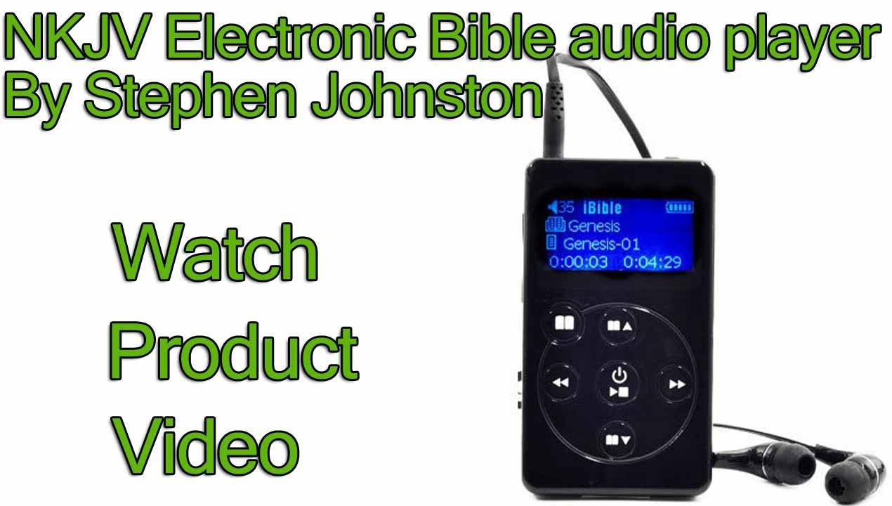 NKJV Audio Bible - Electronic Bible audio player - New King James Bible