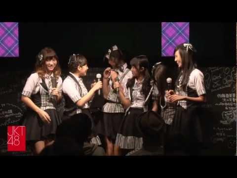 """""""Jakarta Tte Doko?"""": JKT48 Event at  AKB48 Cafe&Shop Akihabara on November 4th, 2012"""