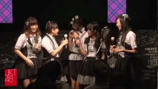 """Jakarta Tte Doko?"": JKT48 Event at  AKB48 Cafe&Shop Akihabara on November 4th, 2012"