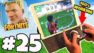 FORTNITE MOBILE WITH A CONTROLLER - 100% WORKING WORLD FIRST Fortnite IOS/Android App Partie 25