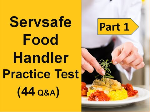 ServSafe Food Handler Practice Test (40 Questions & Anwers With Full Explain)