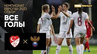 01 12 2020 Турция Россия 1 2 Все голы отборочного турнира ЧЕ 2022 среди женщин