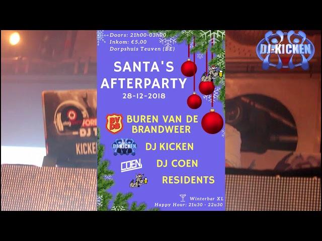 Canta''s Afterparty 28-12 Dorpshuis Teuven DJ Kicken Buren van Brandweer DJ Coen
