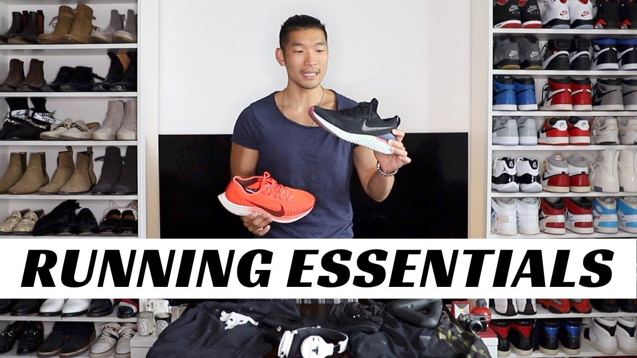 RUNNING GEAR ESSENTIALS FOR MEN | Summer 2020
