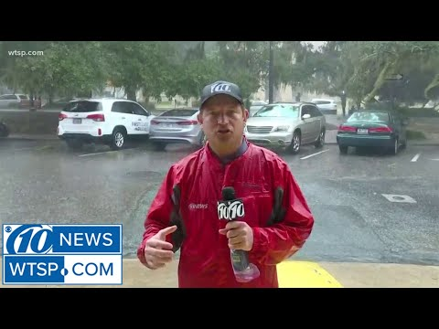10News Is In Tallahassee Tracking Hurricane Michael