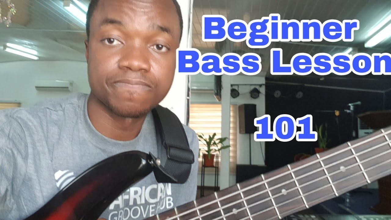 Download Bass Guitar Lesson 101 - Introduction to Bass Guitar