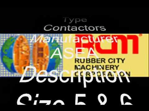 Contactors ASEA Size 5 & 6   #1716