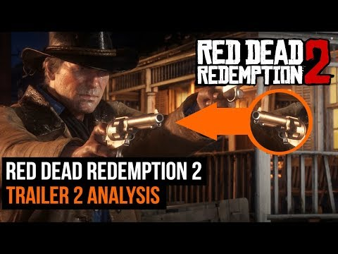 Red Dead Redemption 2: Trailer 2 - Full Analysis