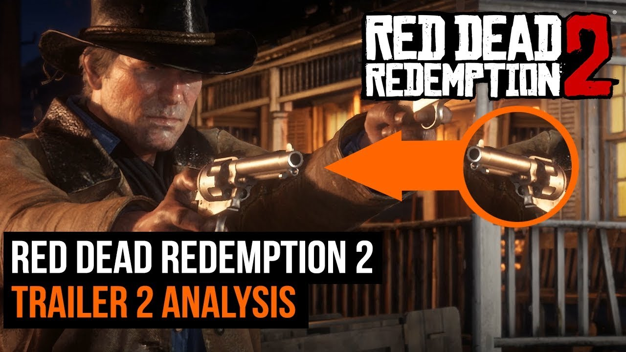 Red Dead Redemption 2 Trailer 2 Full Analysis Youtube
