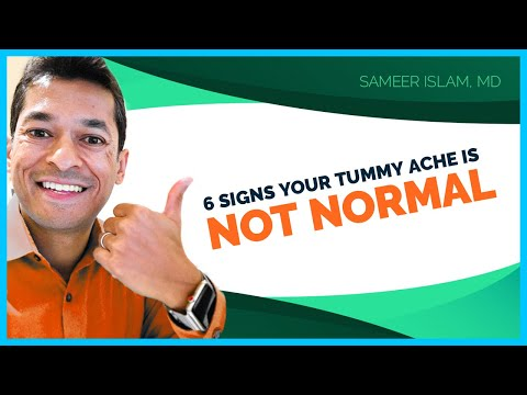 6 Signs Your Stomach Ache Is Not Normal | Sameer Islam Videos