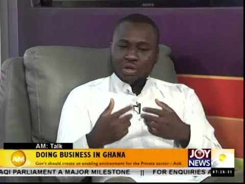 Doing Business in Ghana - AM Talk (9-9-14)
