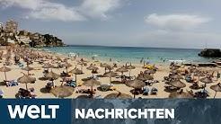 WELT NEWS IM STREAM: Jagd auf Weiße - Wie Urlaubsländer um Deutsche buhlen