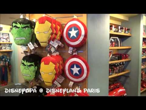 Disneyland Paris Disney Store walkthrough DisneyOpa Disney Village