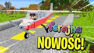 NOWY SPOSÓB NA LATANIE NA FERAJNIE! ✈️ | Minecraft Ferajna