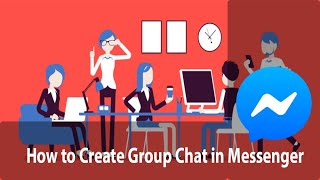 How to Create Group Chat in Messenger | Messenger Tutorial