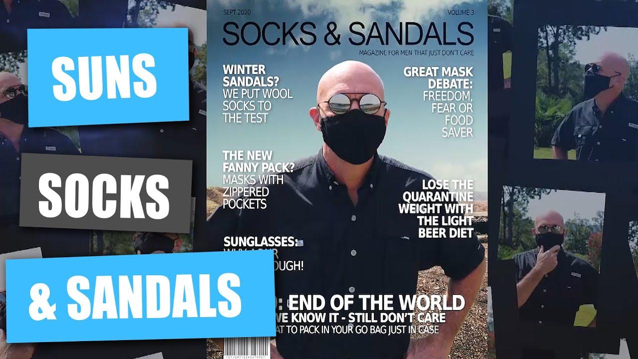 Sunglasses, Socks and Sandals