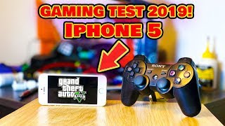 GAMING TEST IPHONE 5 (2019) ТАЩИТ?