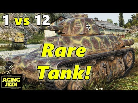 """What The Hell is a Pz. 38H 735 """"Micro Maus""""? - World of Tanks"""