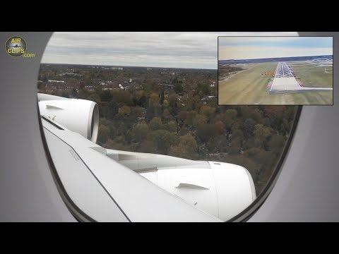 First A380 Hamburg Landing from INSID,E Water Salute: Emirates 29 OCT! [AirClipsTraveller.com]