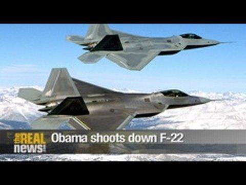 Obama shoots down F-22