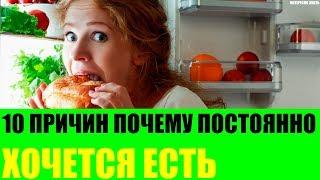 10 причин почему постоянно хочется есть