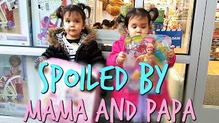Spoiled by Mama and Papa! - December 03, 2016 -  ItsJudysLife Vlogs