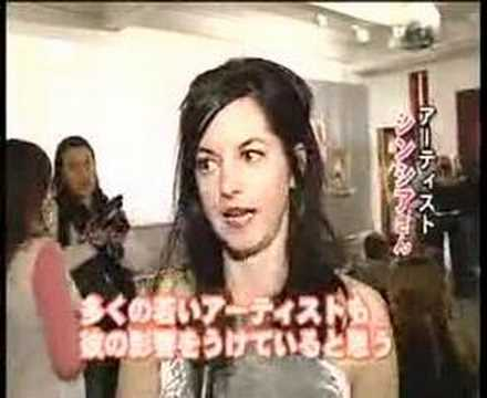 NYC Andy Warhol Event on Fuji Television Network in Japan
