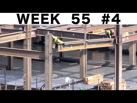 "Ironworkers: ""raw"" construction footage #4 from Week 55"