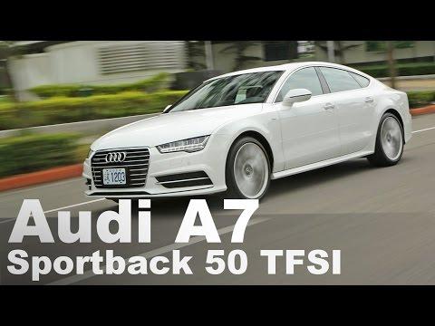 背影殺手 Audi New A7 Sportback 50 TFSI