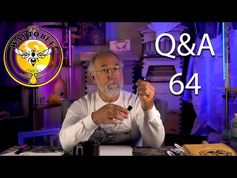 Backyard Beekeeping Questions And Answers 64 What Kinds Of Frames I Use, Swarm Lure.