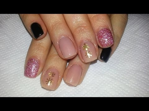 Fall Winter Acrylic Nail Design For Short Nails Youtube