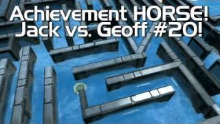 Halo: Reach - Achievement HORSE #20 (Jack vs. Geoff!) | Rooster Teeth