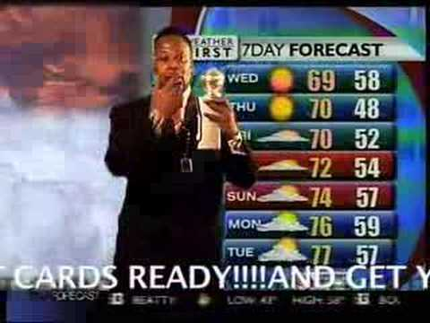 TONY FROM CALI'S  WEATHER