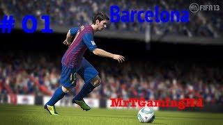 Fifa 13 - Barcelona Career Mode S1 E1 - Loads of Transfers !!
