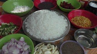 village style Cooking garlic rice - poondu sadam in tamil / Cooking By Village food Recipes