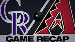 Blackmon, Arenado back Senzatela in win | Rockies-D-backs Game Highlights 6/18/19