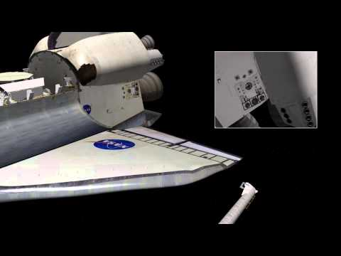 STS-134: OBSS Port Survey
