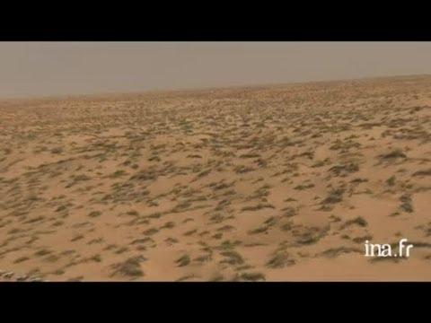 Mauritanie : roches érodées d'Ayoûn el Atrouss