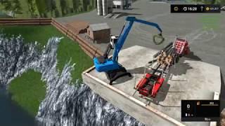 Farming simulator 17 - Emerald valley logging timelapse ep#5 2000 subscriber bonus.