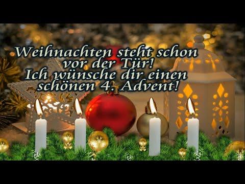 Adventsgrusse Liebe Grusse Zum 4 Advent Gruss Zum Vierten Advent