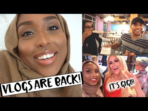 THE WEEKLY VLOGS ARE BACK!! | Squad Night, Makeup Events & Meeting Gigi Gorgeous! | Aysha Abdul