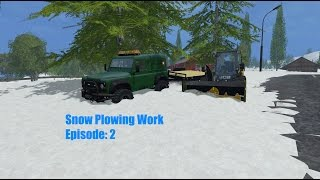 Snow Plowing Ep 2 | Using The Snow Blower!
