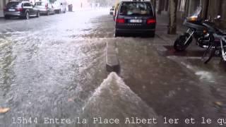 Inondation filmée en direct HD : Chronologie du déluge sur Montpellier. 2015