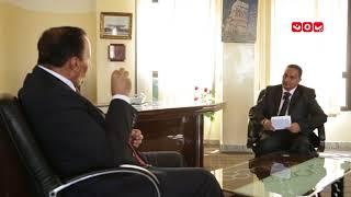 لقاء خاص - عبدالعزيز جباري نائب رئيس الوزراء وزير الخدمة المدنية |حوار عبدالقوي العزاني - يمن شباب