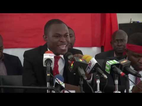 Students of Ghana Law School hold press conference over mass failure in exams