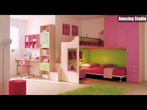 sch ne kinderzimmer m bel moderne dekor und layout youtube. Black Bedroom Furniture Sets. Home Design Ideas