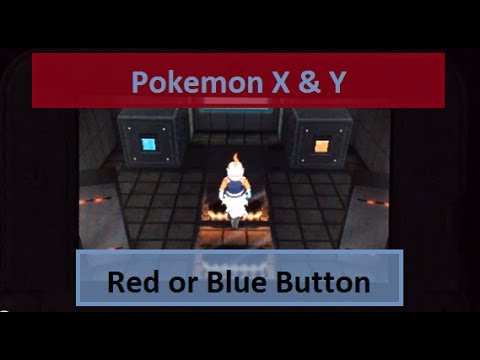 Pokemon X & Y: Red Or Blue Button