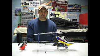 Align trex helicopter ,and how to make it easier to fly