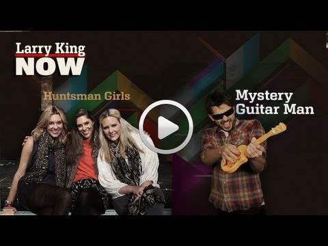 "Joe ""MysteryGuitarMan"" Penna & Huntsman Girls Interview   Larry King Now   Ora TV"