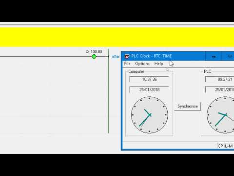 PLC | CX Programmer RTC (Real Time Clock) Using DATE Comparison Instruction To Control Time
